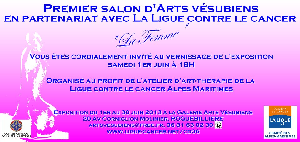 evenement roquebilli�re 1� salon d'arts
