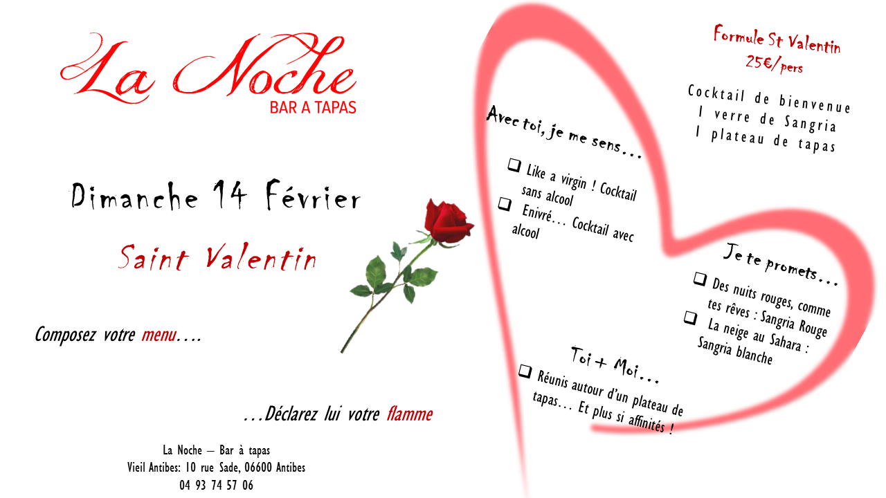 evenement antibes juan-les-pins st valentin originale �  antibes