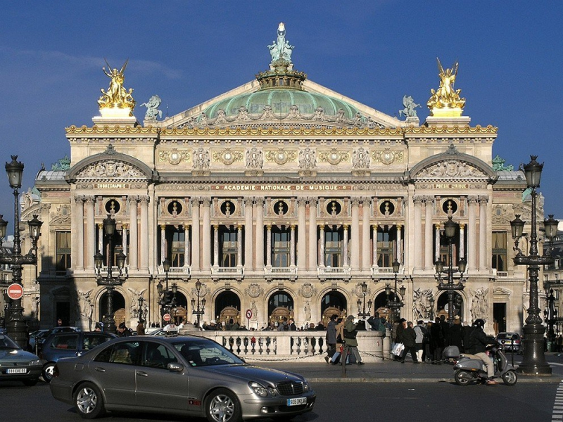 L 39 op ra garnier paris tourisme paris for W architecture bordeaux