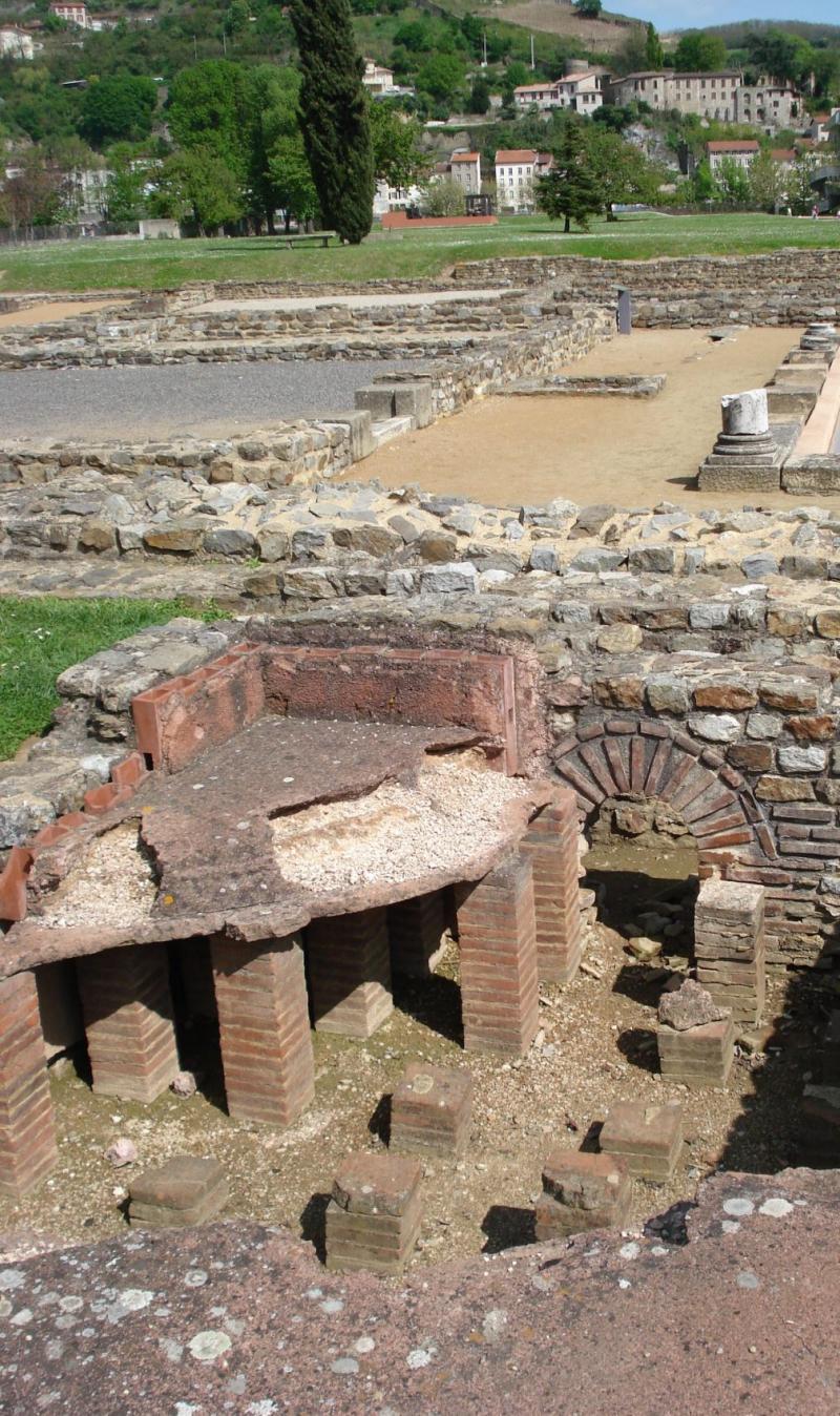 Mus e et site arch ologique de saint romain en gal saint - Piscine st romain en gal ...