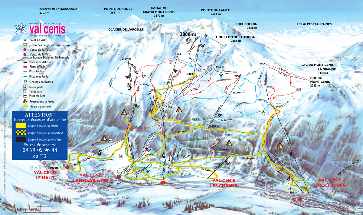 Lanslebourg France  City new picture : Val Cenis Station de ski Val Cenis Vanoise Alpes