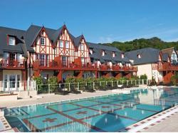 Photo de la résidence Pierre & Vacances Premium Residence & Spa Houlgate à Houlgate