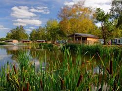 Picture of the campsite Village Du Lac, Camping de Bordeaux at Bruges