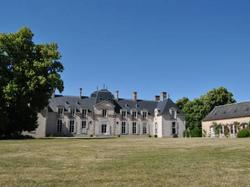 Chateau La Touanne Avec Piscine Chauffée - With Heated Swimm