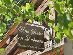 Une Sieste en Luberon Bonnieux