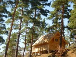 Cabane Lodge Domaine du Lac Chambon Murol