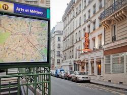 Austin's Arts et Metiers Hôtel : Hotel Paris 3