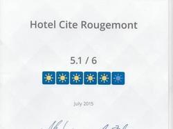 Hôtel de la cité Rougemont Paris