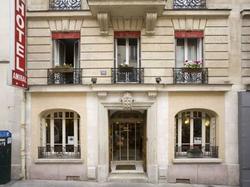 Hotel L'Amiral : Hotel Paris 15